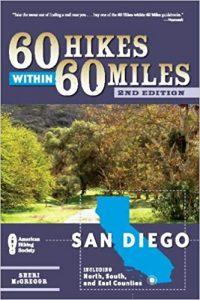 60 Hikes San Diego book